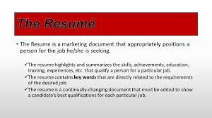 Job Resume Highlights by Real Skills U2013 Real Jobs Real Careers Choctawcareers Com Ppt