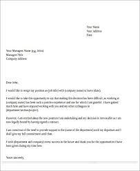 temporary resignation letter resignation letter for temporary