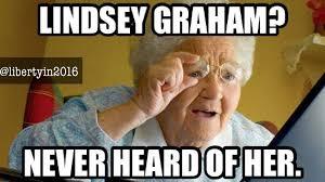 Graham Meme - humans against lindsey graham home facebook