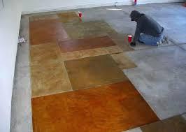 Outdoor Floor Painting Ideas Painted Concrete Floors Blatt Me