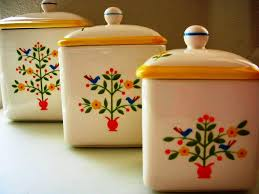 pottery kitchen canister sets ceramic kitchen canister sets new home design the inexplicable