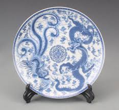 china designs exquisite chinese handmade blue and white porcelain plate painted
