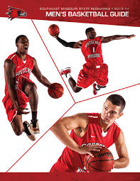 2013 14 southeast missouri men u0027s basketball guide by southeast
