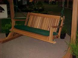 cabbage hill cedar porch swings neatitems com free shipping