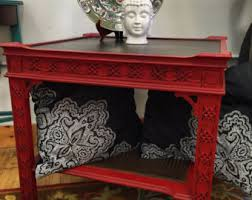 Red Shabby Chic Furniture by Vintage Maple Buffet Table Shabby Chic Furniture Chalk