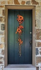 diy fall door decorations wreaths decoration and doors