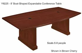 Collapsible Conference Table Brown Cherry Veneer Conference Tables 8 U0027 Table See Other Sizes