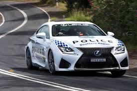 2016 lexus rc f lexus rc f nsw police coupe joins australian police vehicle fleet