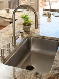 Faucet And Soap Dispenser Placement Pantry Shelving Pictures Options Tips U0026 Ideas Hgtv