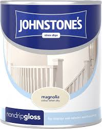 johnstone u0027s 303888 non drip gloss paint conker amazon co uk