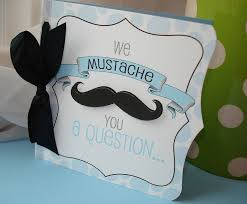 baby shower mustache mustache bash square 3d fold out baby boy shower invitation