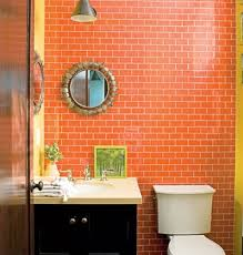 orange bathroom ideas orange bathroom tiles ideas and pictures