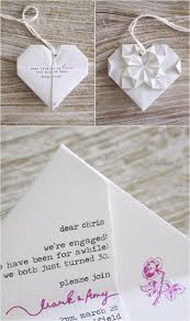 creative ideas to make your own wedding invitations