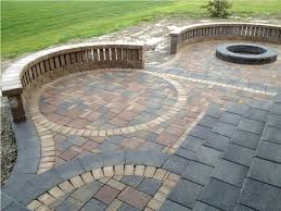 Patio Designs Using Pavers Front Yard Patio Designs Photo Inspirations Front
