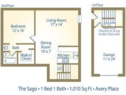 one story garage apartment floor plans 1 bedroom garage apartment floor plans great one story home plans