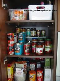 how to store food in cupboards before and after how i organised my food cupboard