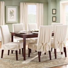 White Slipcover Dining Chair Dining Chairs Interesting White Dining Chair Slipcover How To