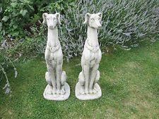 greyhound garden ornament ebay