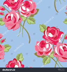 design your own home wallpaper floral seamless pattern use backgrounds fill stock illustration