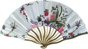asian fan asian fans stylish floral fan