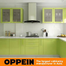 Lacquer Kitchen Cabinets by Guangzhou Oppein Green Lacquer Kitchen Cabinets Wholesale Buy