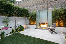 Modern Garden Wooden Chairs Garden Contemporary Garden Design With Good Log Fence And Single