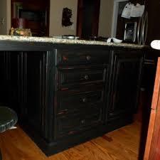 distressed kitchen islands wonderful black wooden color distressed kitchen island features