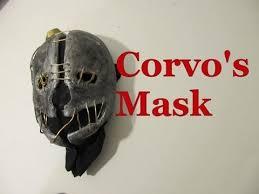 Corvo Costume Halloween Corvo U0027s Mask Dishonored Thinking Scarecrow Mask