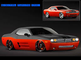 Dodge Challenger Concept - these
