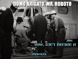 I Robot Meme - my life in the glow of the outer limits episode spotlight i