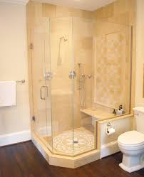 Glass Bathroom Showers Bathroom Shower Design For Awkward Spaces In Md Dc Va