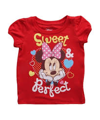 Minnie Mouse Clothes For Toddlers Toddler Minnie Mouse Sweet U0026 Perfect Tshirt