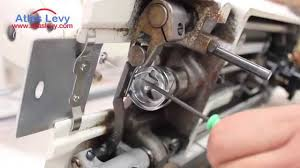 how to fix he hook timing on an industrial sewing machine youtube