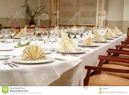 restaurant table setting royalty free stock image image 3269406