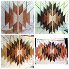wooden kilim wall art reality daydream