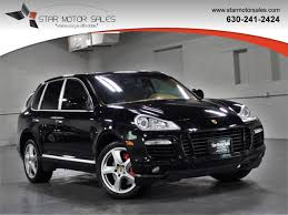 porsche cayenne 2008 turbo used porsche cayenne at motor sales serving downers grove il