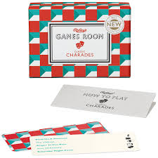 amazon com ridley u0027s games room classic charades card game toys