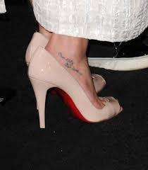 lea michele lettering tattoo lea michele tattoos looks stylebistro