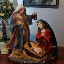 holy family nativity set statue 16 inch removable baby jesus