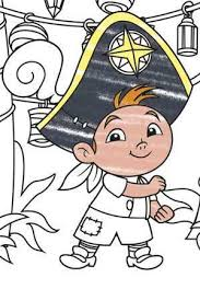 jake land pirates cubby colouring disney