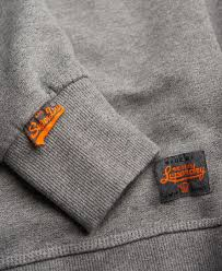 cost effective superdry mens high flyers crew sweatshirt in grey
