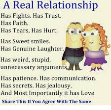 Real Relationship Memes - a real relationship has fights has trust has faith has tears has