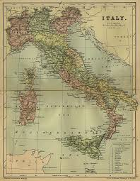 Map Of Southern Italy by