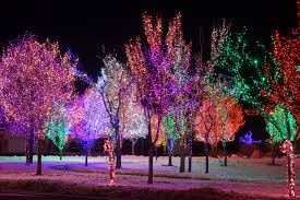 Colored Christmas Lights by Computer Christmas Lights Christmas Lights Decoration
