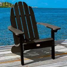 plastic adirondack chairs with ottoman breakwater bay detrick plastic adirondack chair with ottoman