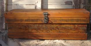 tattered tiques antique tool box