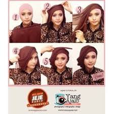 tutorial jilbab jilbab pin by mulia insani on hijab pinterest