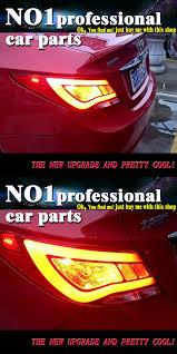 2013 hyundai sonata tail light bulb size car styling 2011 2013 for hyundai accent solaris taillights led tail