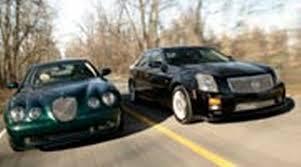 2004 cadillac cts v specs 2004 cadillac ctsv vs 2004 jaguar stype r comparison motor trend