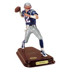 tom brady player figurine the danbury mint